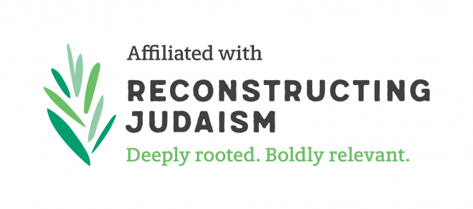 Affiliated with Reconstructing Judaism