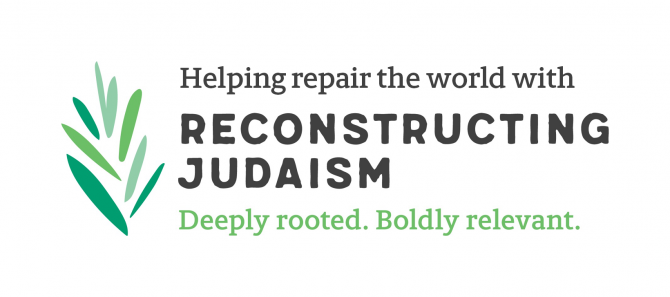 Helping repair the world with Reconstructing Judaism