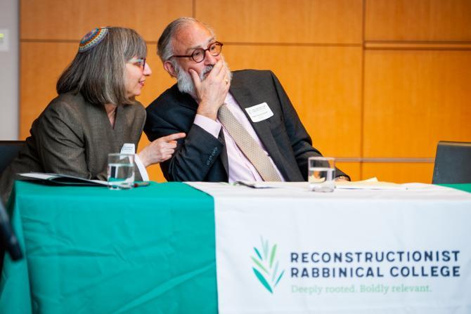 Mira Wasserman and David Teutsch