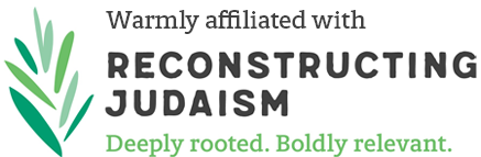 Warmly affiliated with Reconstructing Judaism