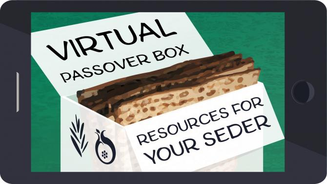 Virtual Passover Box: Resources for Your Seder