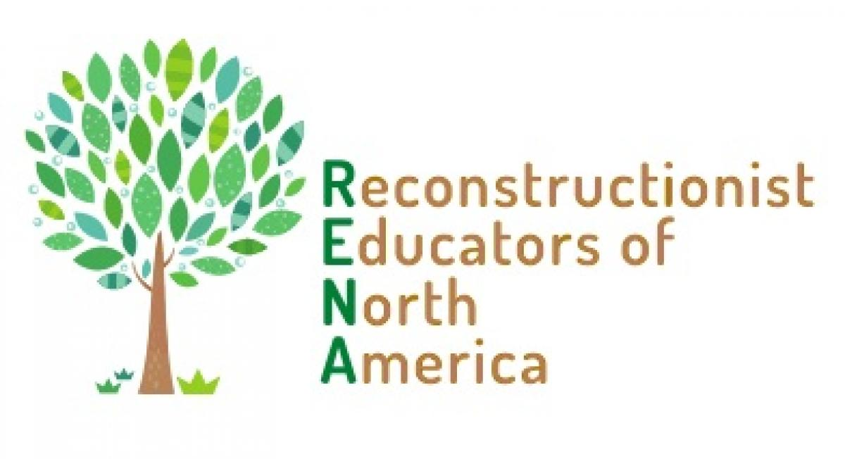 RENA Logo - Tree with different shades of green next to the RENA abbreviation
