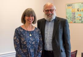Rabbis Mira Wasserman & David Teutsch